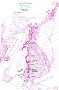 Vignemale, éperon nord de l'Aiguille des Glaciers dans Escalade D vignemale-aiguille-des-glaciers-eperon-nord-197x300