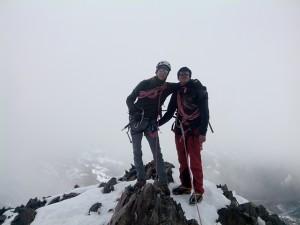 Cerro Tarija, pequeño alpamayo